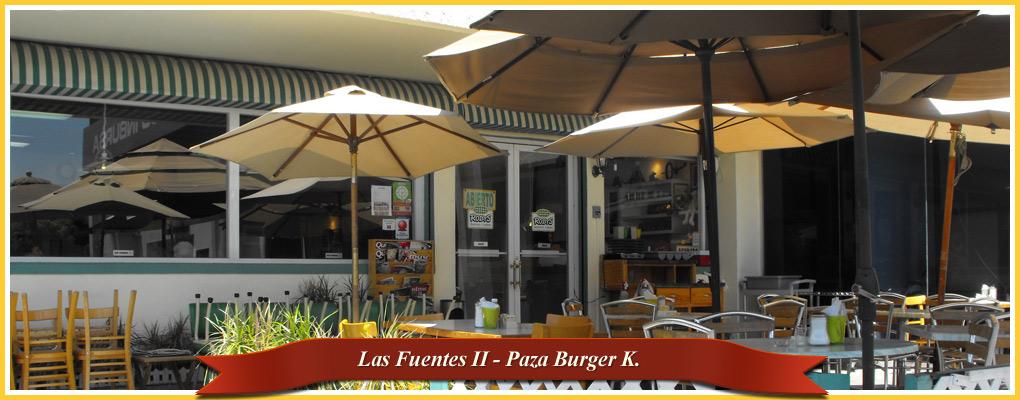 Las Fuentes – Plaza Burger